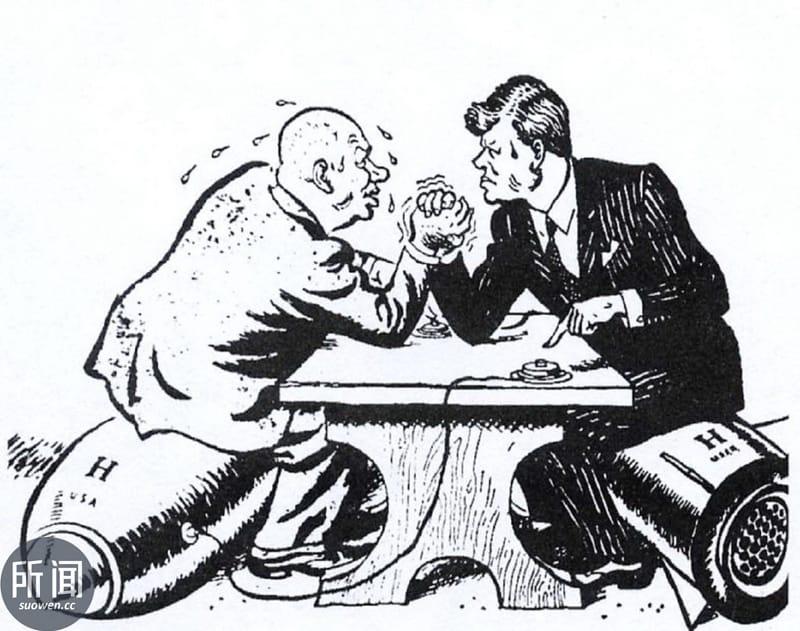 赫鲁晓夫与肯尼迪